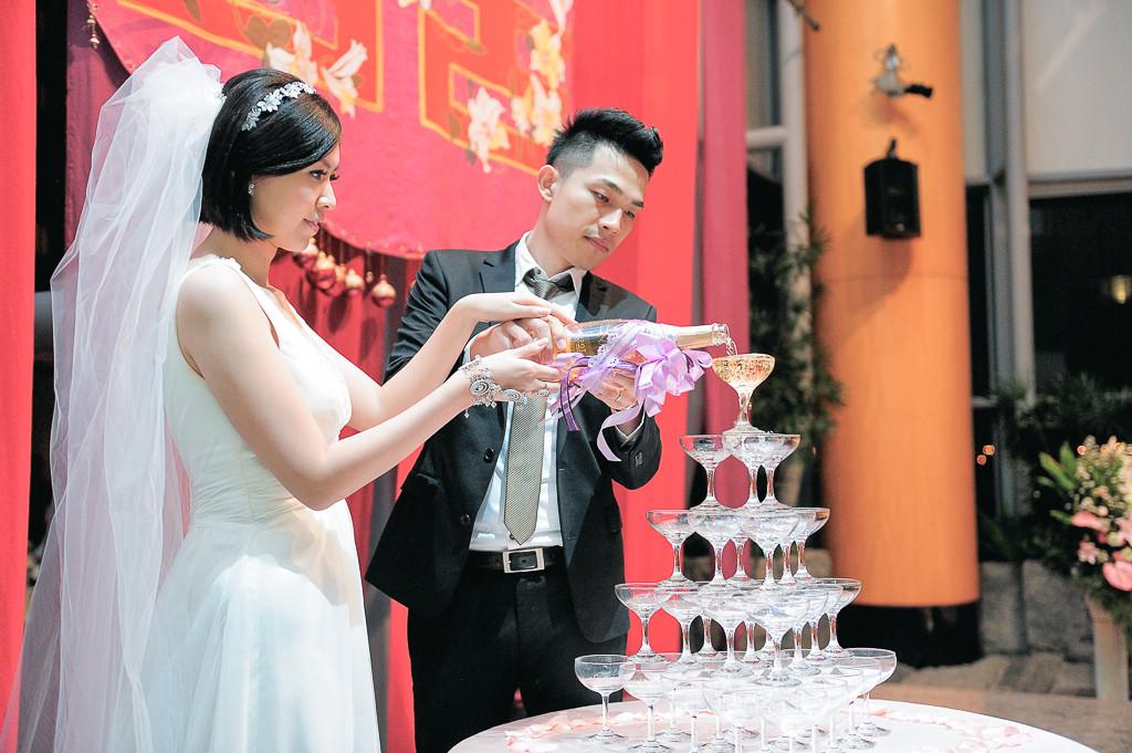 婚攝ED-婚禮紀錄-裕元花園酒店