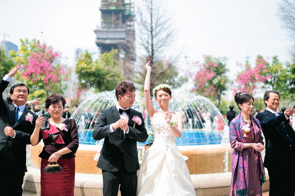 婚攝ED-婚禮紀錄-中僑婚訂花園